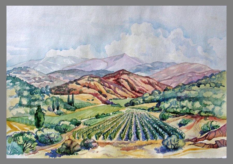 Картинки пейзажей природы раскраски